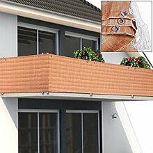 Deuba® Windschutz 5m Sichtschutz Balkonbespannung