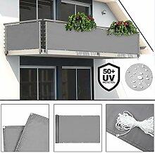 Deuba® Windschutz 5m   UV-Schutz 50+  