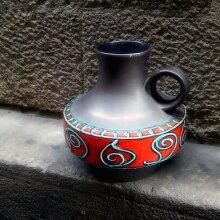 Deutsche Keramikvase, 1970er