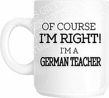 Deutsche Lehrer Schule Lehrer Geschenk Weihnachten