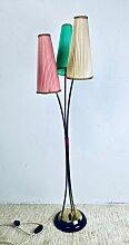 Deutsche Stehlampe mit Drei Armen, 1950er
