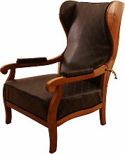Deutscher Biedermeier Stuhl aus Nussholz, 1820er