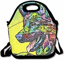 Deutscher Schäferhund Lunch Bags Insulated Travel