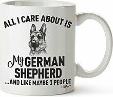 Deutscher Schäferhund Mom Geschenke Tasse Frauen