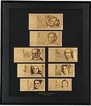 Deutschland: D-Mark-Banknoten-Set - Eine edle