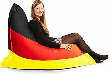 Deutschland Flagge Squashy Squarbie Sitzsack - Junior