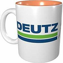 Deutz-Fahr Farbige Tasse Porzellan Tasse 330 ml
