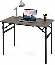 DEVAISE Holz Klapptisch Bürotisch Schreibtisch