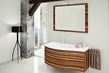 Devo Vena Arte Badmoebel Set, Holz, Chestnut High Gloss, 120 x 80 x 100 cm