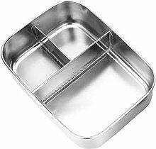 dewdropy Edelstahl Brotdose - Bento Box Metall