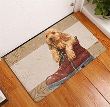 Deyimr Fußmatte Hund Und Katze Mit