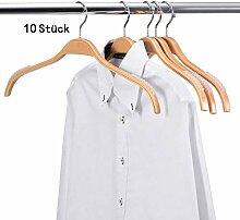 DEYOUNG Kleiderbügel aus Holz für Anzug und