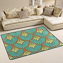 DEYYA Moderne Muster Der Antike Flokati Teppiche