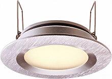 Dezenter Deko Light LED Deckeneinbauspot in silber