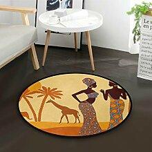 DEZIRO afrikanische Frauen Tropische Giraffe