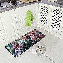 DEZIRO Bodenmatte Lotusöl Teppich Teppich