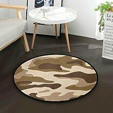 DEZIRO Camouflage Hintergrund-Boden-Teppich,