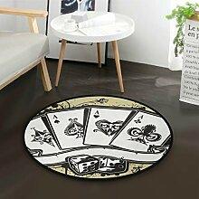 DEZIRO Craps Poker Kinground Fußmatte Teppich