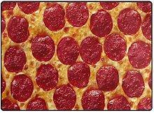 DEZIRO Fußmatte für Lebensmittel und Pizza, für