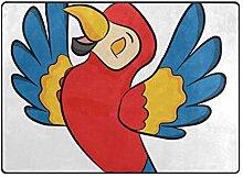 DEZIRO Fußmatte für Papageien im Außenbereich,