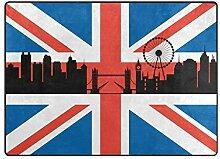 DEZIRO Fußmatte/Fußmatte mit Londoner