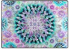 DEZIRO Fußmatte mit abstraktem