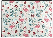 DEZIRO Fußmatte mit Flamingo-Muster, für den