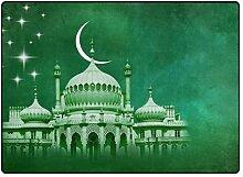 DEZIRO Fußmatte mit grünem Hintergrund, tolles