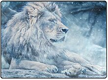 DEZIRO Fußmatte mit Löwenmotiv für den
