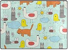 DEZIRO Fußmatte mit niedlichen Kreaturen, für