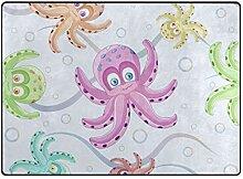 DEZIRO Fußmatte mit Oktopus-Muster, für den
