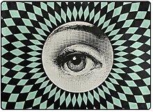 DEZIRO Fußmatte mit vertiginösen Augen Muster