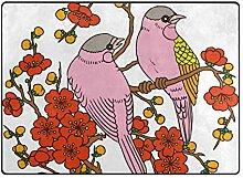 DEZIRO Fußmatte mit zwei Vögeln für den