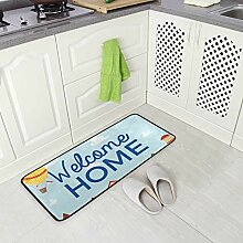 DEZIRO Fußmatte Welcome Home Teppich Teppich