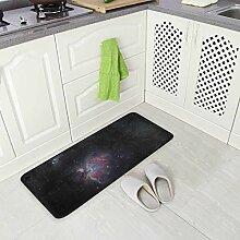 DEZIRO Galaxy Fußmatte Flächen-Teppich
