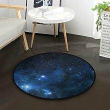 DEZIRO Galaxy UniverseRound Fußmatte Teppich