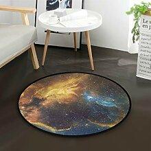 DEZIRO GalaxyRunde Bodenmatte Teppich