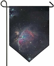 DEZIRO Garten-Flagge Galaxy, vertikal,