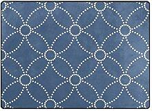 DEZIRO Klassischer dunkelblauer Polyester
