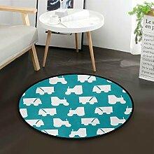 DEZIRO Love CarsRunde Fußmatte Teppich Teppich