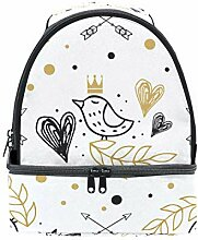 "DEZIRO Lunchtasche""Fall in Love"","