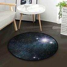 DEZIRO Night StarryRound Fußmatte Teppich