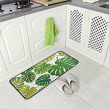 DEZIRO Sommer-Fußmatte Tropisches Design Teppich