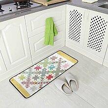DEZIRO Teppich-Bodenmatte mit Steppmuster für
