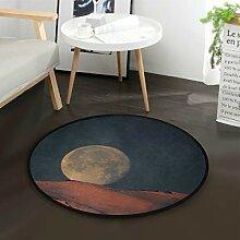 DEZIRO Vollmond-Bodenmatte Teppich