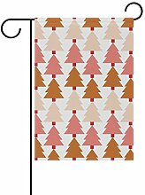 DEZIRO Weihnachtsbaumflagge Garten-Flagge,