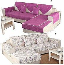 DFamily Europäischer Stil Sofaüberwurf
