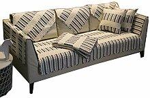 DFamily Moderne Sofa Bezug Baumwolle Schnitt Sofa