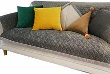 DFamily Verdicken sie Plüsch Sofabezug Multi-Size
