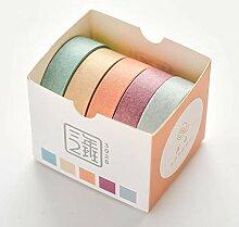 DFG farbige Handbuch und Papier heftpflaster